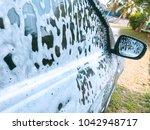 car care business   wash grey... | Shutterstock . vector #1042948717