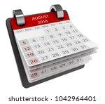 3d Monthly Calendar Perspectiv...