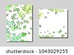 light greenvector banner for...