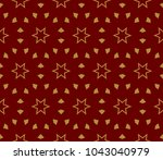 hipster background. geometric... | Shutterstock .eps vector #1043040979