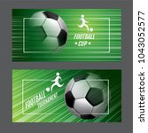 template sport layout design ... | Shutterstock .eps vector #1043052577