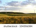 A Windmill On A Hillside...