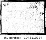 grunge black and white distress ... | Shutterstock .eps vector #1043110339