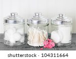 Containers Of Cotton Health...