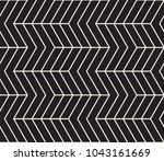 vector seamless pattern. modern ... | Shutterstock .eps vector #1043161669