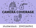 conceptual business... | Shutterstock . vector #1043166961