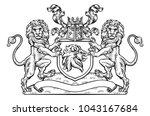 A Medieval Heraldic Coat Of...