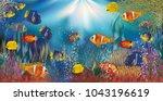 Underwater Tropical Wallpaper ...