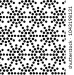 seamless vector pattern with... | Shutterstock .eps vector #1043198131
