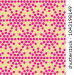 seamless vector pattern with... | Shutterstock .eps vector #1043198149