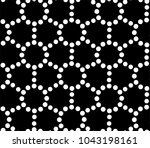 seamless vector pattern with... | Shutterstock .eps vector #1043198161