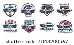 american muscle car logo design....