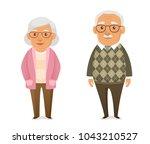 funny cartoon illustration of... | Shutterstock .eps vector #1043210527