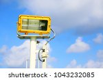 the light stand by for use in... | Shutterstock . vector #1043232085