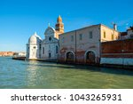 church of san michele  venetian ... | Shutterstock . vector #1043265931