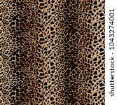 seamless leopard pattern | Shutterstock . vector #1043274001