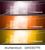 Set Of Banners. Abstract...