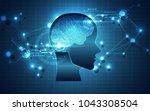 artificial intelligence. ai... | Shutterstock .eps vector #1043308504
