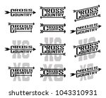 cross country designs is an... | Shutterstock .eps vector #1043310931