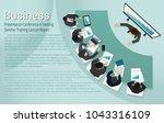 presentation business... | Shutterstock .eps vector #1043316109