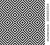 seamless pattern with striped... | Shutterstock .eps vector #1043331514
