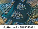 symbol of virtual financial... | Shutterstock . vector #1043339671