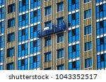 facing the building with a... | Shutterstock . vector #1043352517