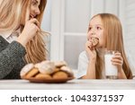 photo of mother and daughter... | Shutterstock . vector #1043371537