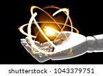 quantum computer technology  ... | Shutterstock . vector #1043379751