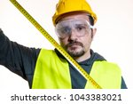 odd job  a man who wants to do... | Shutterstock . vector #1043383021