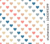 seamless abstract vector... | Shutterstock .eps vector #1043395399
