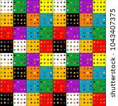 colorful patchwork background... | Shutterstock .eps vector #1043407375