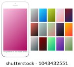 soft color gradient backgrounds ... | Shutterstock .eps vector #1043432551