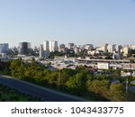 the panorama from the hight to... | Shutterstock . vector #1043433775