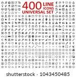 vector illustration of thin... | Shutterstock .eps vector #1043450485