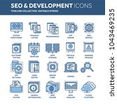 seo and app development. search ...   Shutterstock .eps vector #1043469235