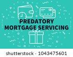 conceptual business... | Shutterstock . vector #1043475601