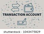 conceptual business...   Shutterstock . vector #1043475829