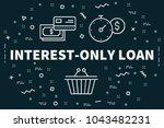 conceptual business... | Shutterstock . vector #1043482231