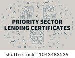 conceptual business...   Shutterstock . vector #1043483539