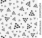 seamless pattern with triangles ...   Shutterstock .eps vector #1043491654