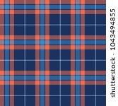 seamless tartan vector pattern | Shutterstock .eps vector #1043494855