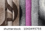 carpets variety selection... | Shutterstock . vector #1043495755