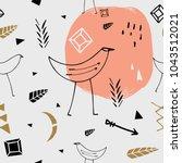 vector and jpg image. hand... | Shutterstock .eps vector #1043512021