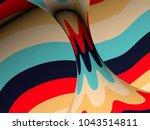 torus core with vintage tint... | Shutterstock . vector #1043514811