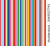 colorful stripes seamless... | Shutterstock .eps vector #1043527741