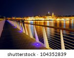 Night View Of Valletta From...