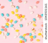 stylish candy background. ... | Shutterstock . vector #1043531161