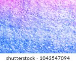 pink  purple and blue textured...   Shutterstock . vector #1043547094