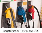 fuel pump  gas station ... | Shutterstock . vector #1043551315